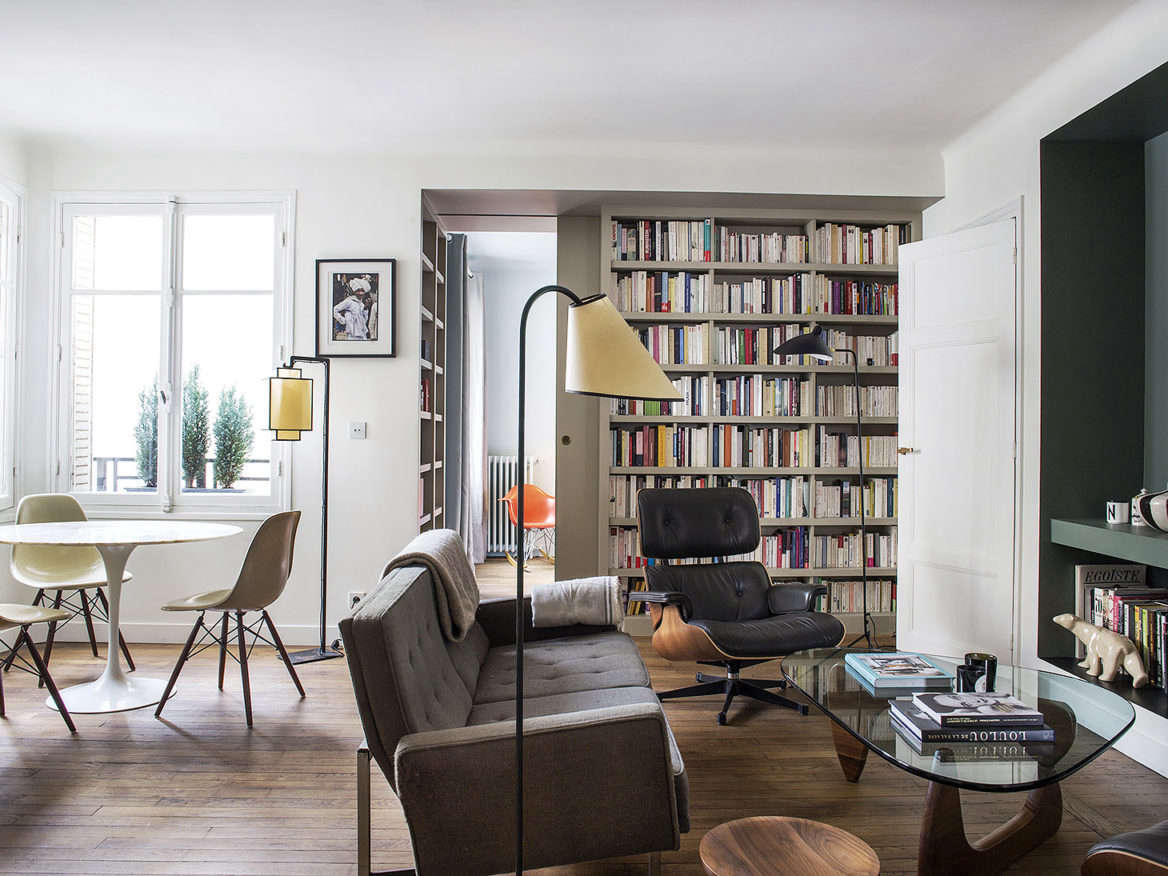 9 Small Space Ideas To Steal From A Tiny Paris Apartment Part 49