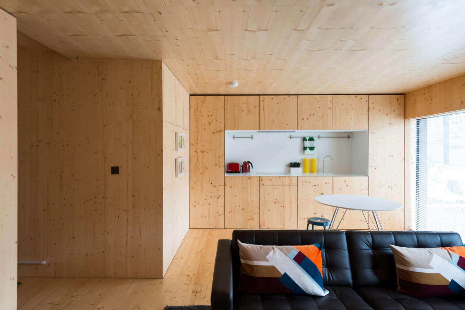 Amin Taha Spruce Apartment Kitchen In London