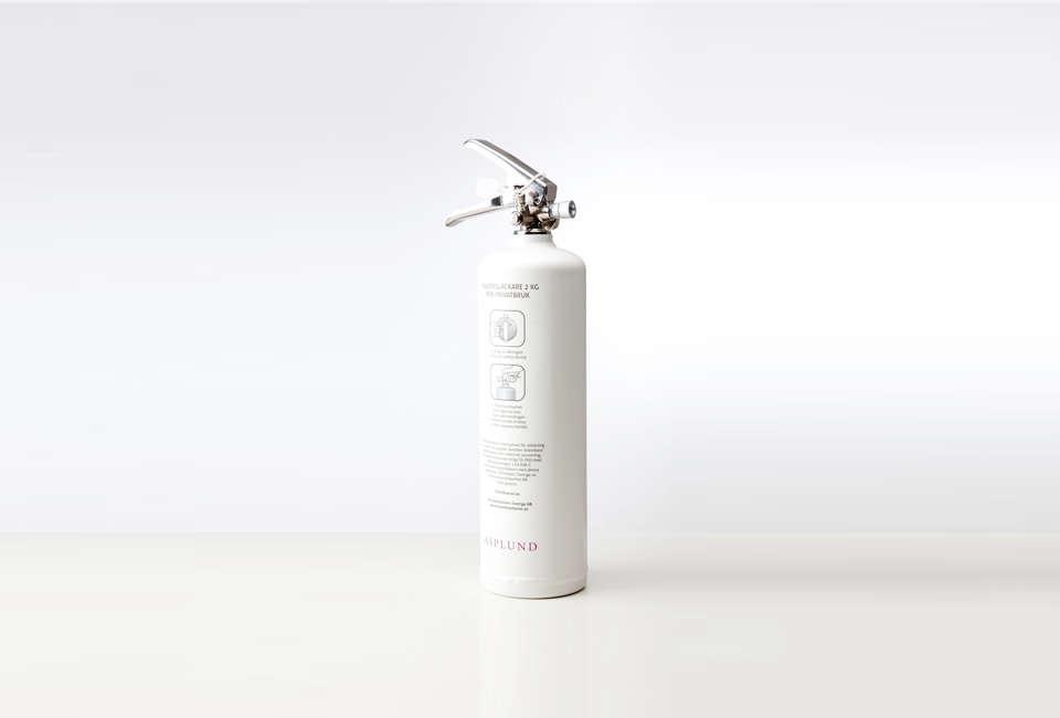 Asplund Matte White Fire Extinguisher