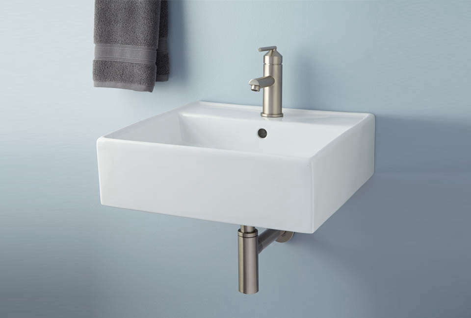 Audrie Wall Mount Bathroom Sink