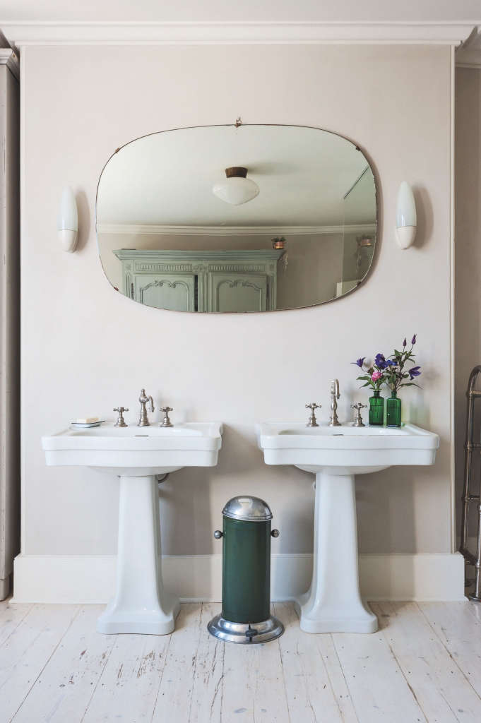 Bathroom of the Week  A Romantic London Bath Made from Vintage PartsBrowse Bathrooms Archives on   Remodelista. Round Bathroom Cabinet Uk. Home Design Ideas