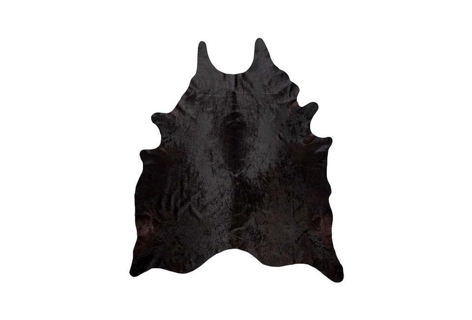 Ikea'sKoldby Black Cowhide Rug is $169.