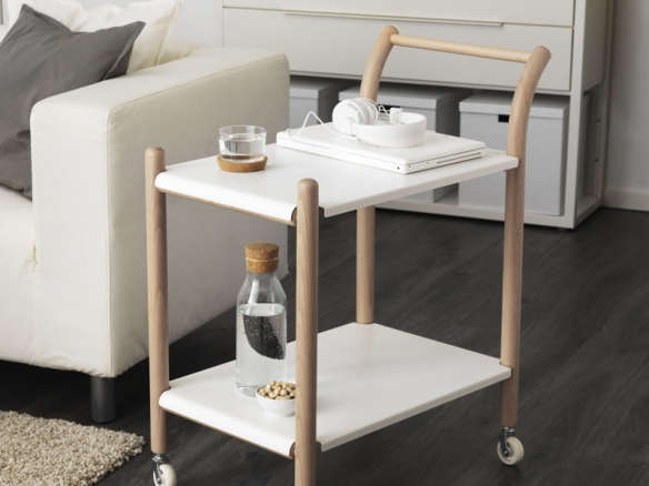 Ikea Ps Side Table On Castors With