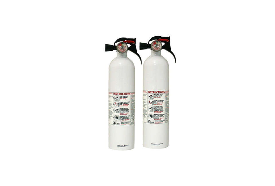 Kidde Kitchen Fire Extinguisher Two Pack Home Depot