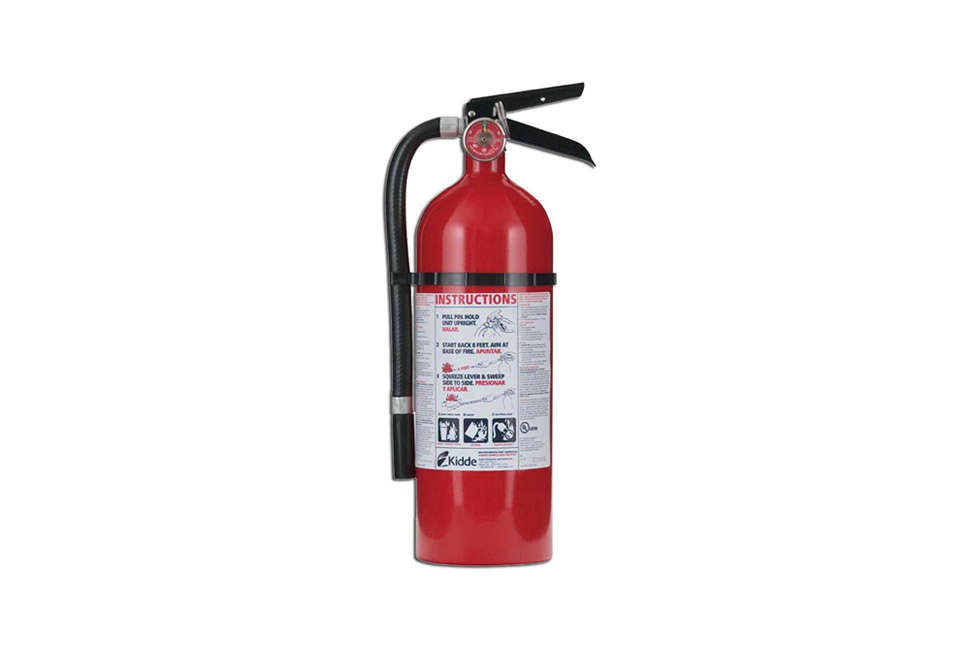 kidde pro 210 fire extinguisher abc model remodeling 101 how to choose a home fire extinguisher remodelista  at nearapp.co