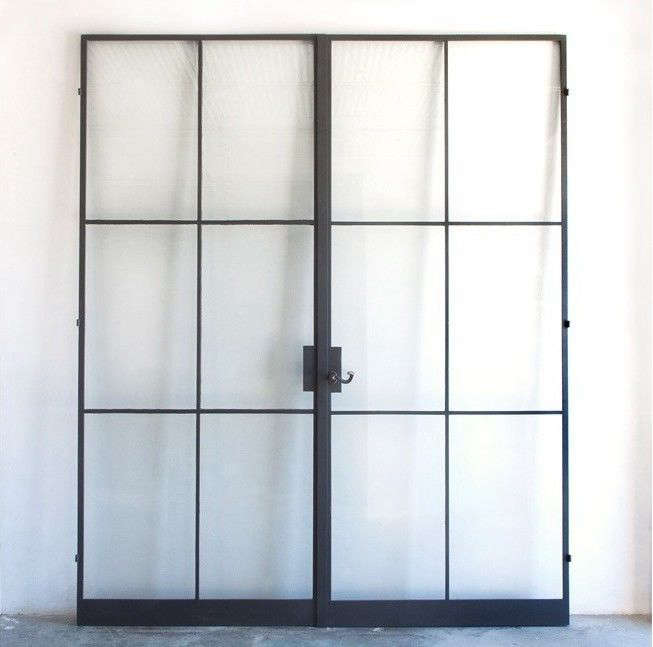 Charmant Custom Steel Frame Doors From The Atelier Domingue Architectural  Metalcrafts Line.
