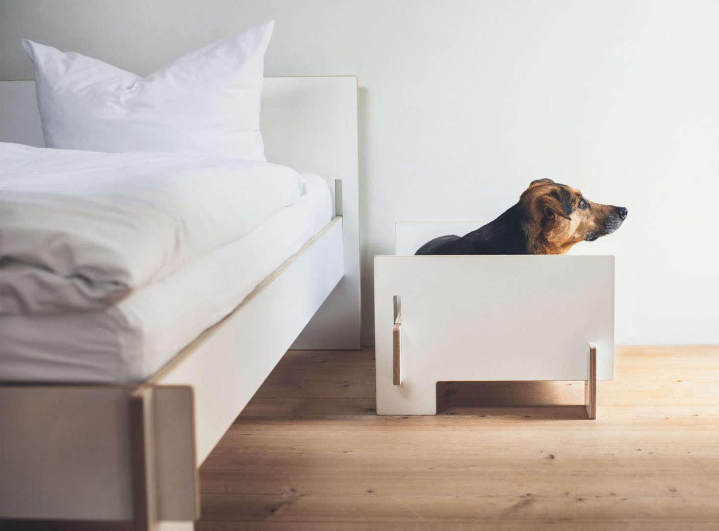 From German Designer Nils Holger Moorman The Siebenschlafer Bed Is Made Interconnecting European Birch