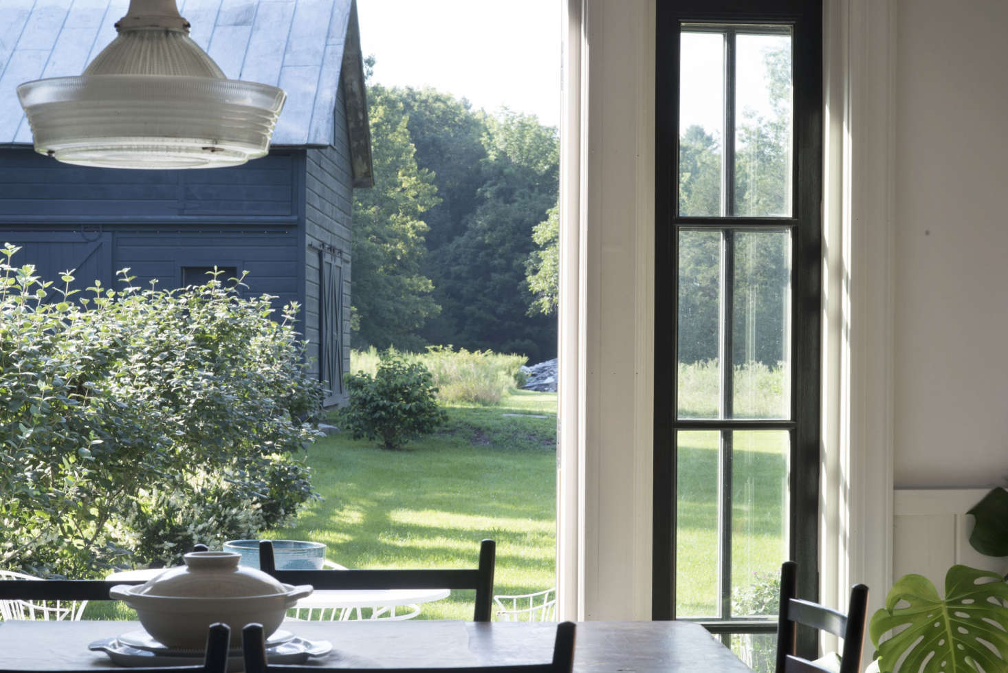 Photograph by Mylene Pionilla, from Architect Visit: An Antiquarian Farmhouse in Upstate New York Transformed.