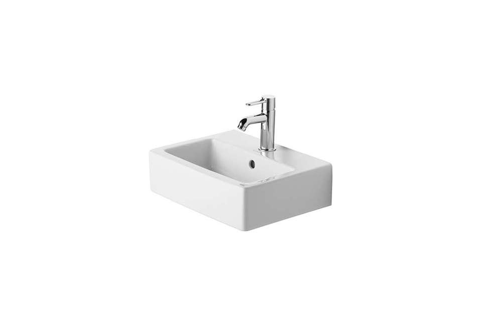 vero wallmounted ground square handrinse basin