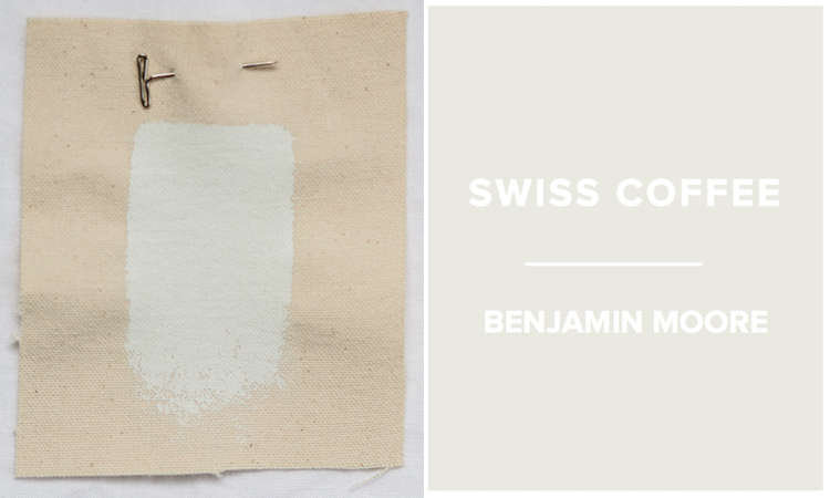 Benjamin Moore Swiss Coffee