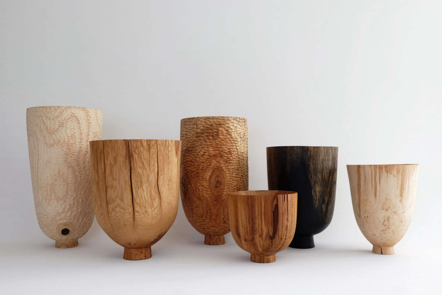 Wooden bowls by London-based Forest & Found; seeSecond Life: Tabletop Essentials Made from Salvaged British Hardwoods for more information and ordering.