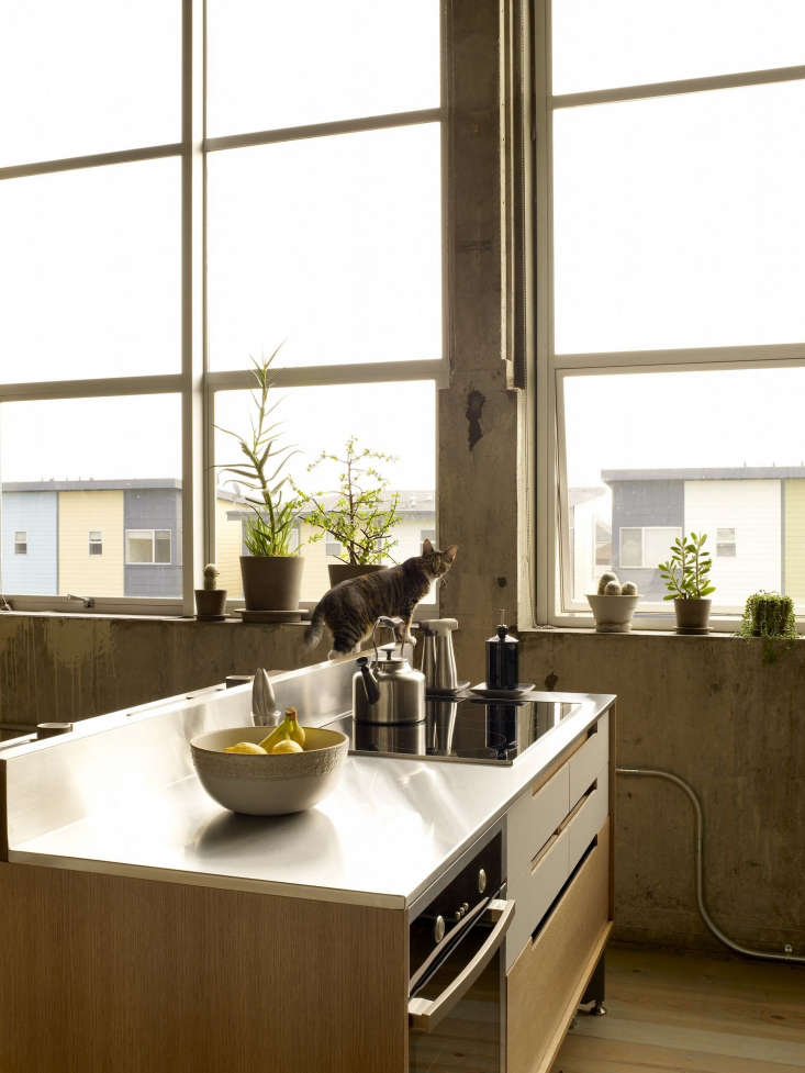 Kitchen Of The Week A Modern Live Work Kitchen For An