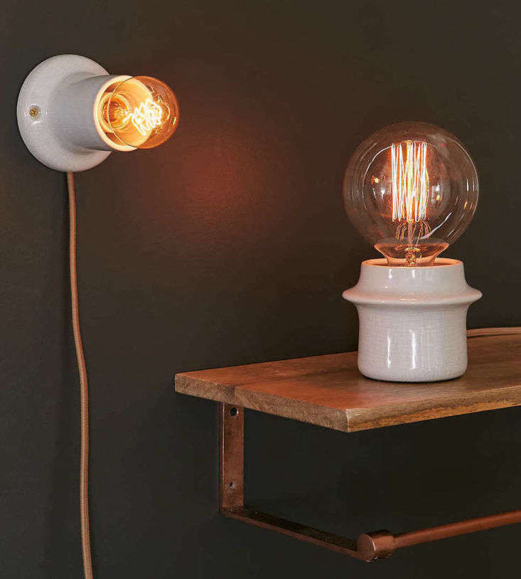 Bathroom Lighting Remodelista: A Well-Priced, Petite Table Light From UO