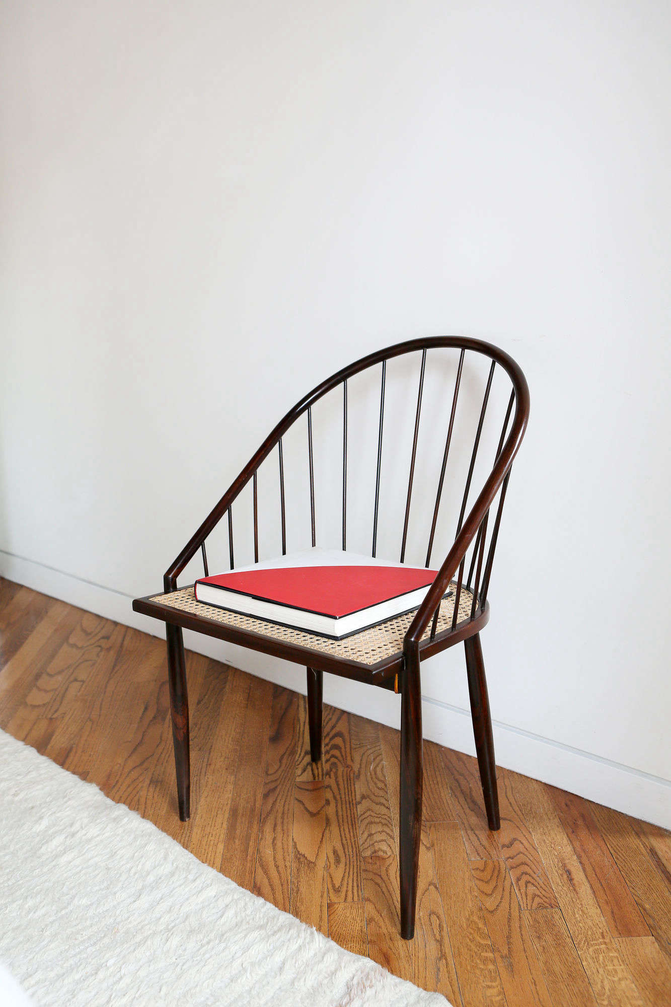 An idea to steal: chair as pared-down display.
