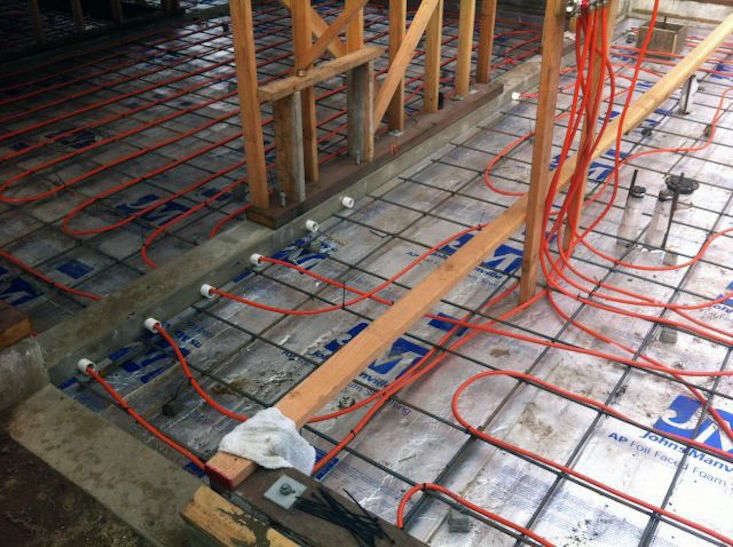 In floor garage heating canada gurus floor for Best hydronic radiant floor heating systems
