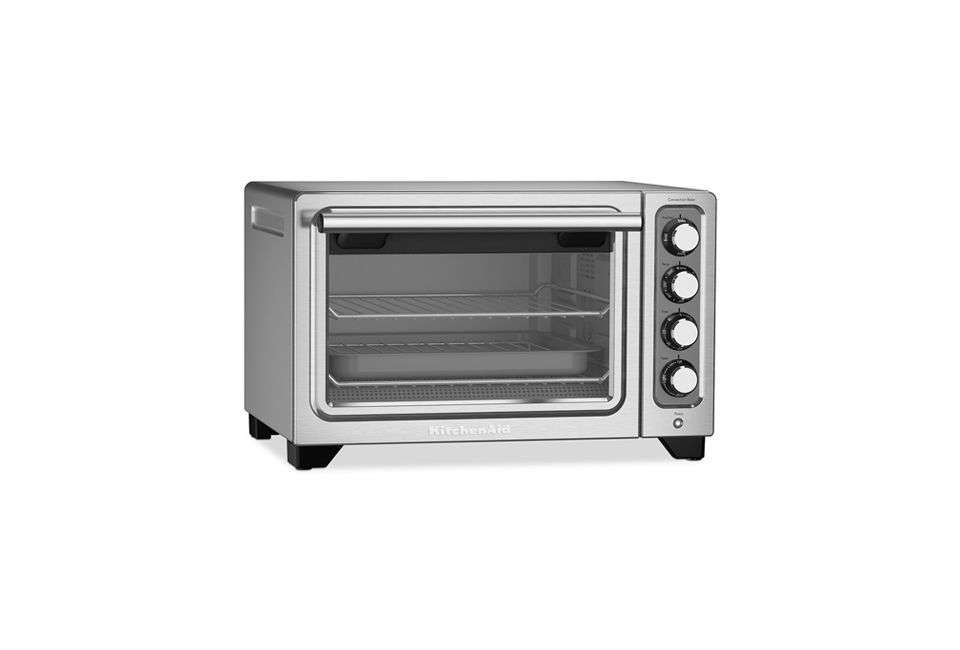 The KitchenAid Compact Toaster Oven Can Bake, Broil, Toast, Warm, And Slow