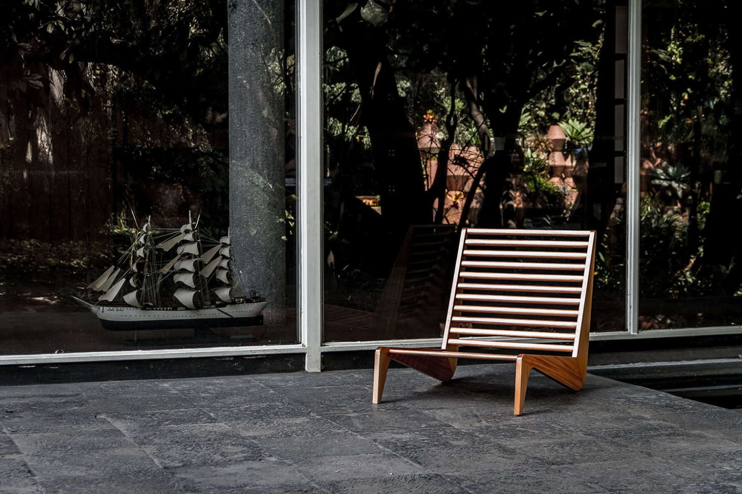 Spectacular Available in single or double Ala Bench is inspired by s Mexican furniture This