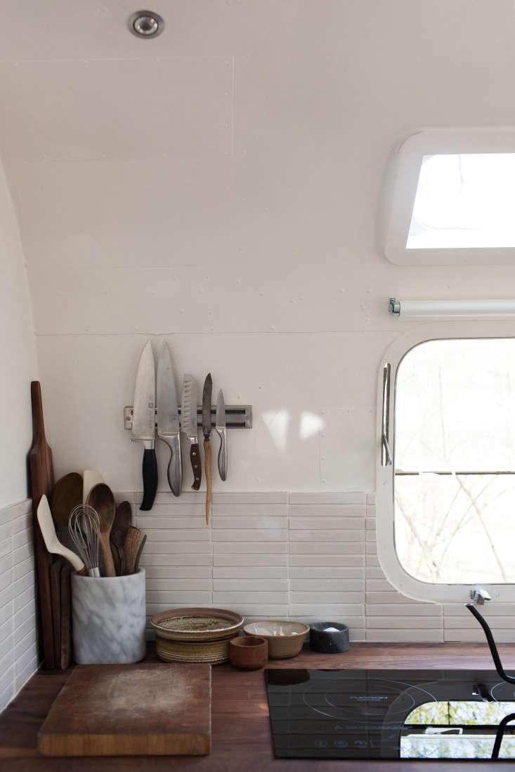 vintage airstream custom-built for modern living on the go