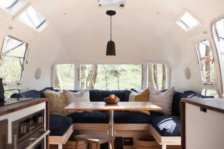 Vintage Airstream Custom Built For Modern Living On The Go