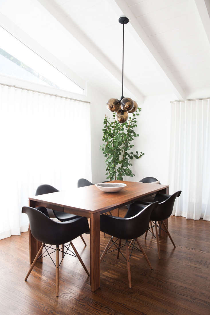 with a rockstar edge: a renovated la bungalow for a musician, off