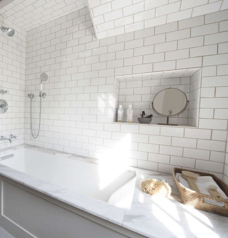 Bathroom Lighting Remodelista: Bathroom Of The Week: A 1920s-Inspired Bathroom In A