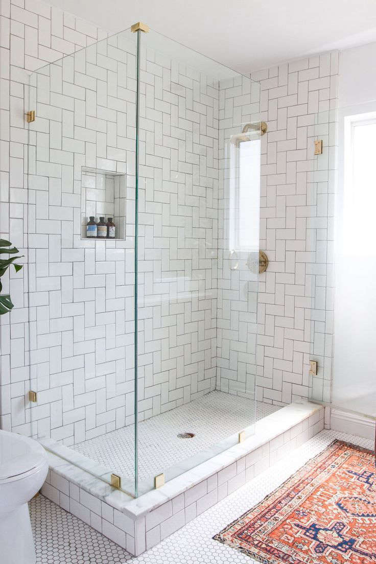 Trend Alert Vintage Rugs In The Bath Remodelista