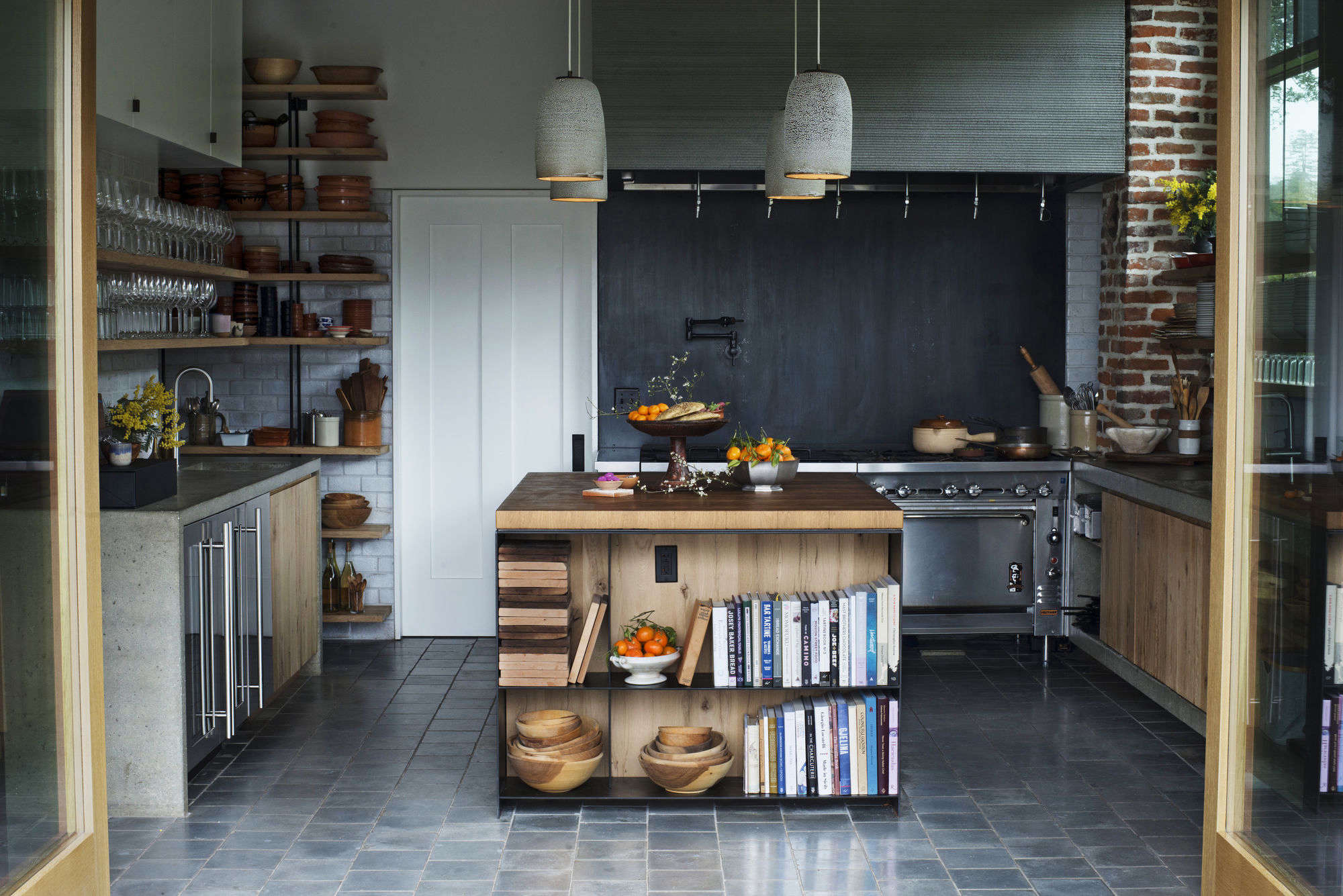 Kitchen of the Week: A Hacienda Kitchen in Sonoma\'s Hippest Winery ...