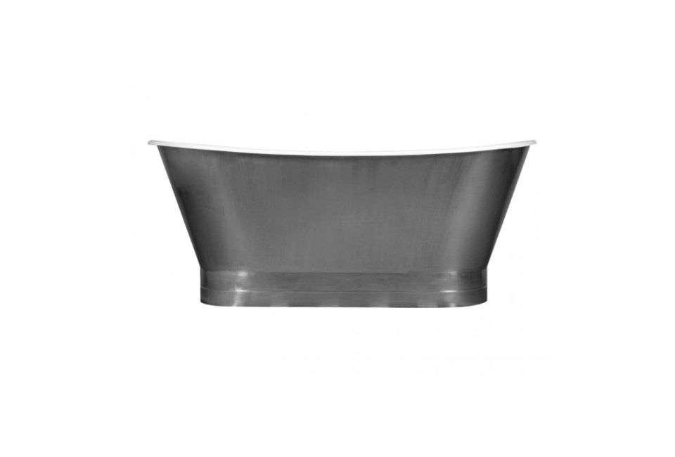 10 Easy Pieces: Silver Finish Freestanding Bathtubs - Remodelista