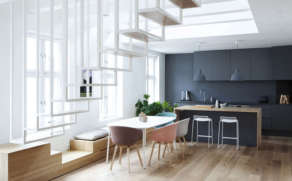 Built In Seating And Drawer Storage In An Oslo Kitchen Designed By Haptic,  An