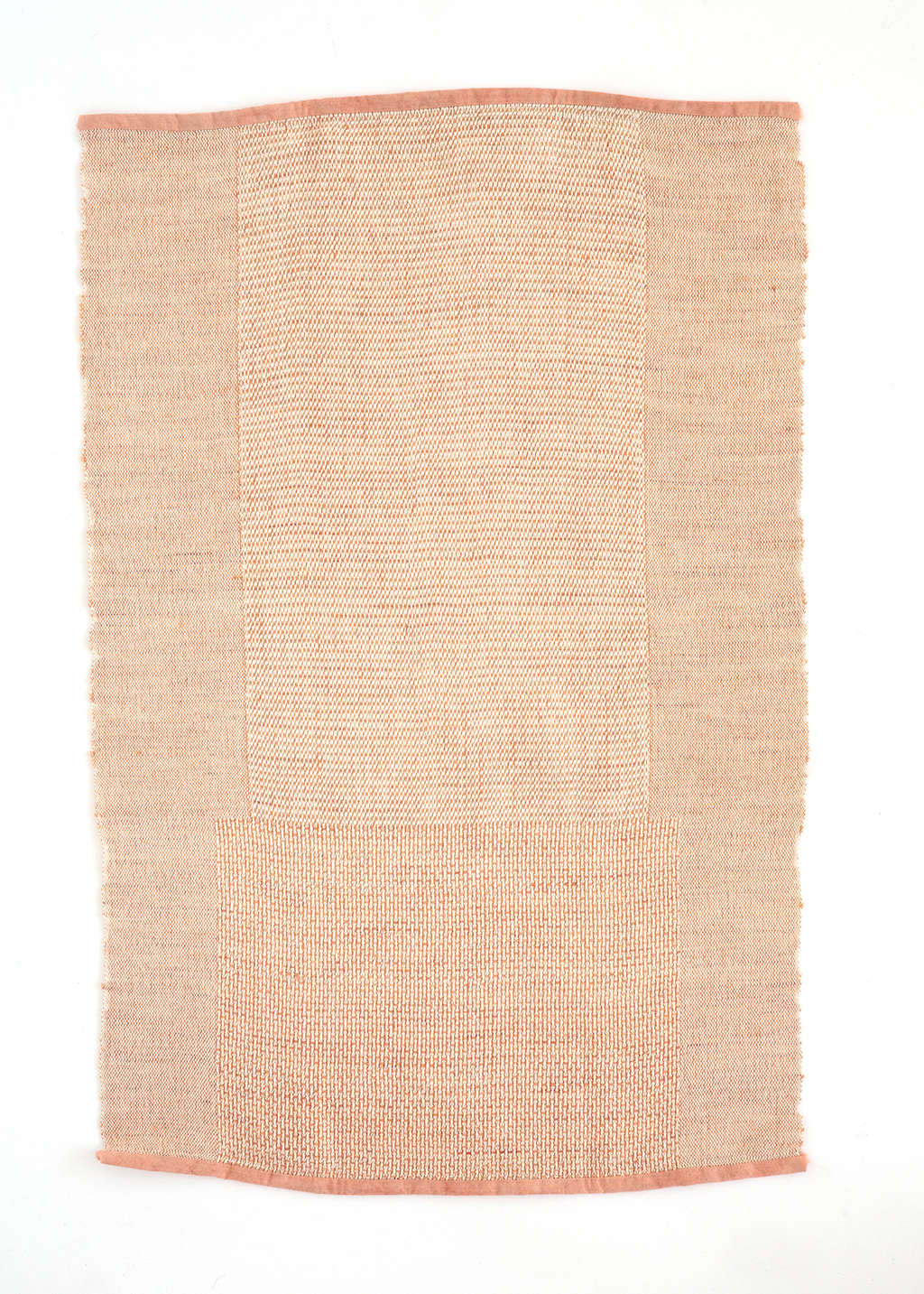 Sin'sWine-Stained Hand Towel features pale pink on one side and a deeper ochre hue on the reverse; $56. Also available in Natural andTea-Stained.