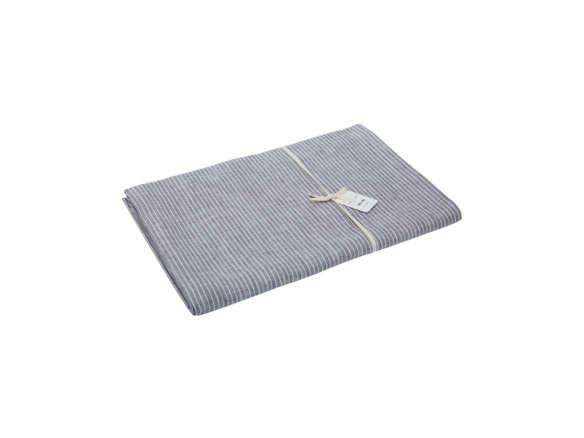 Fog Linen Work Striped Linen Tablecloth