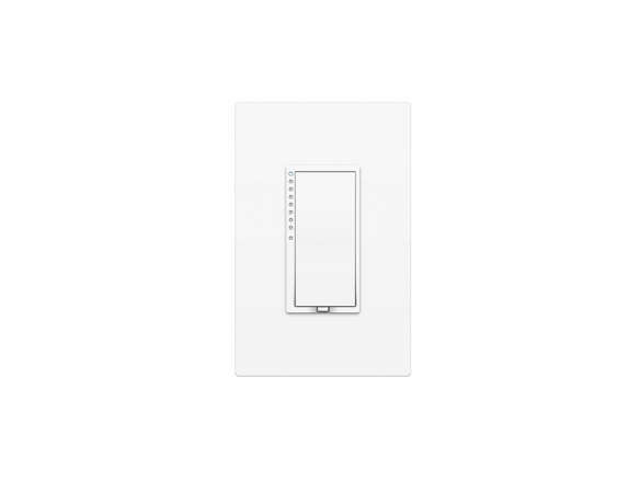 legrand 15 amp adorne pop out white square duplex electrical outlet. Black Bedroom Furniture Sets. Home Design Ideas