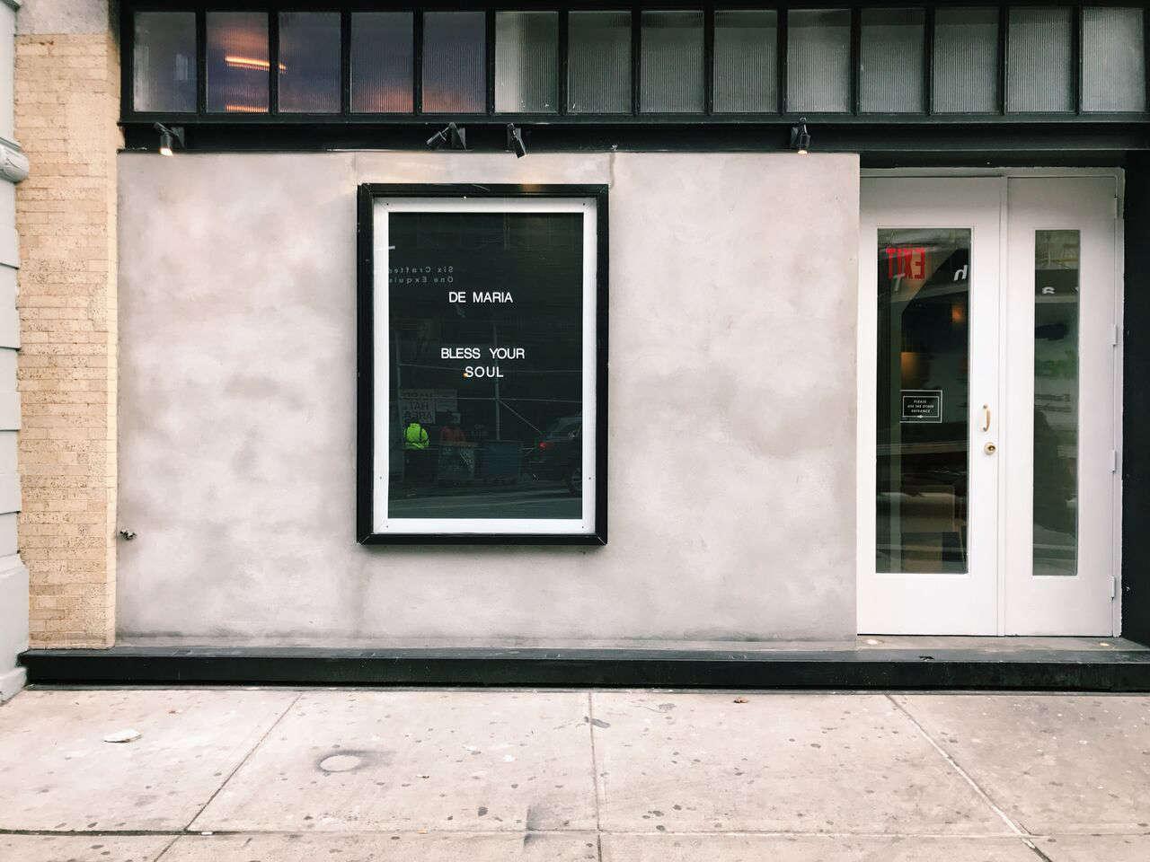 The exterior on Kenmare Street, on the edge ofNolita in Manhattan. Photo by Nikki Brand.