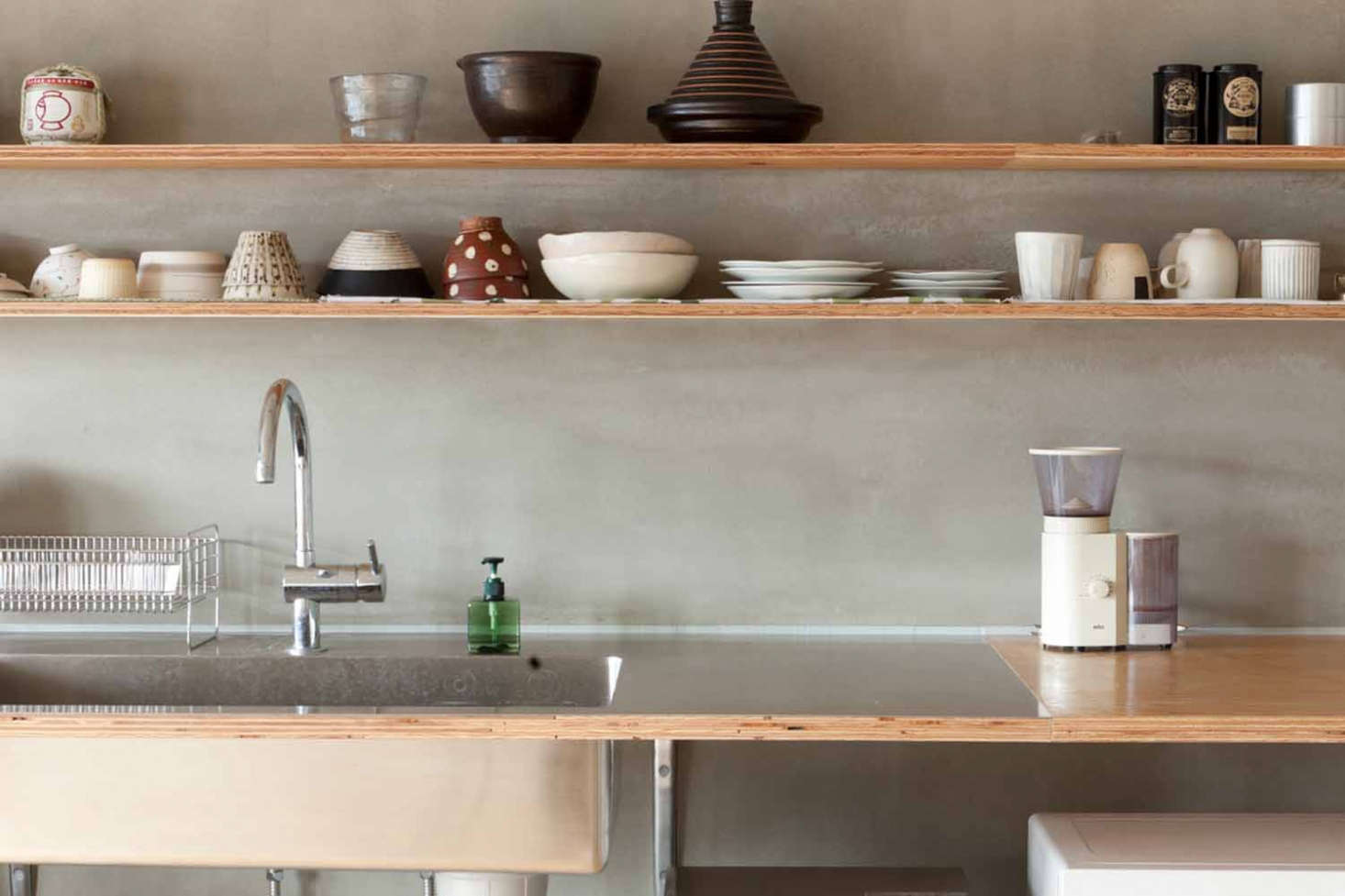 Table of Contents: The Deconstructed Kitchen