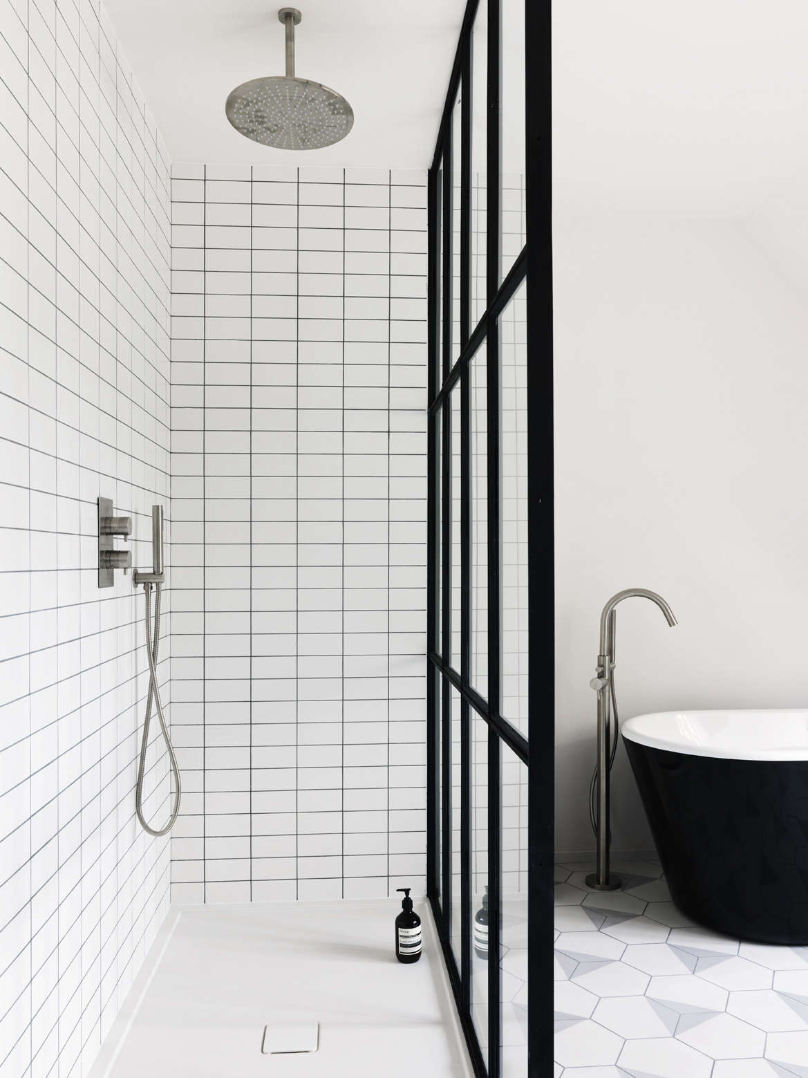 Bathroom Of The Week Steel Frame Shower Doors In A