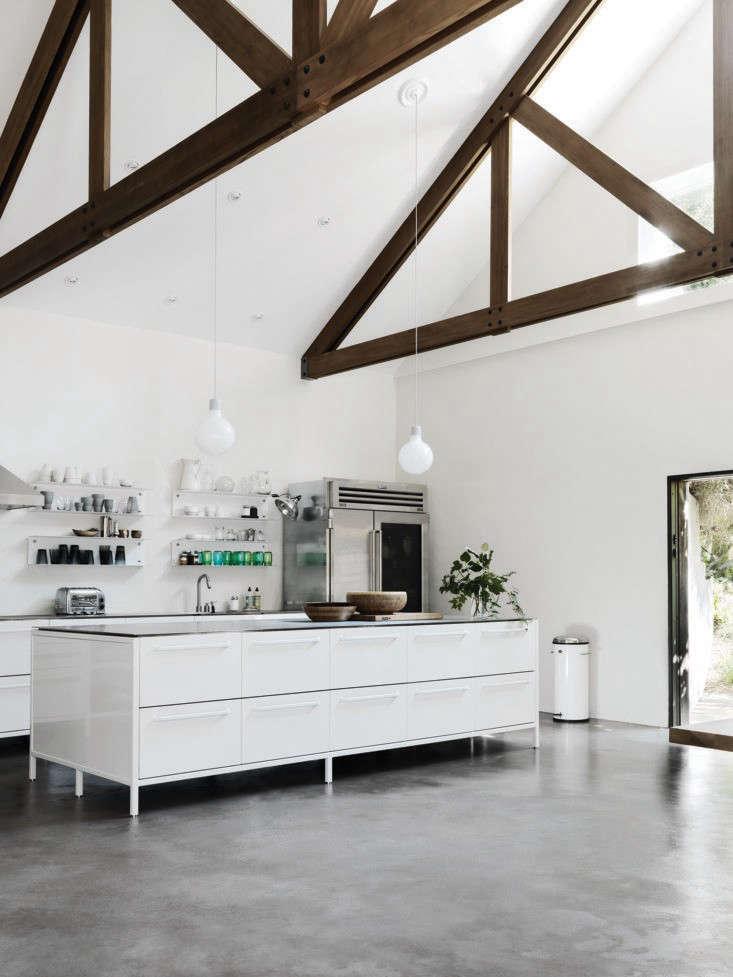 hamptons kitchen design. Vipp delivered the entire kitchen  down to appliances Sub Zero fridge stainless steel modular home