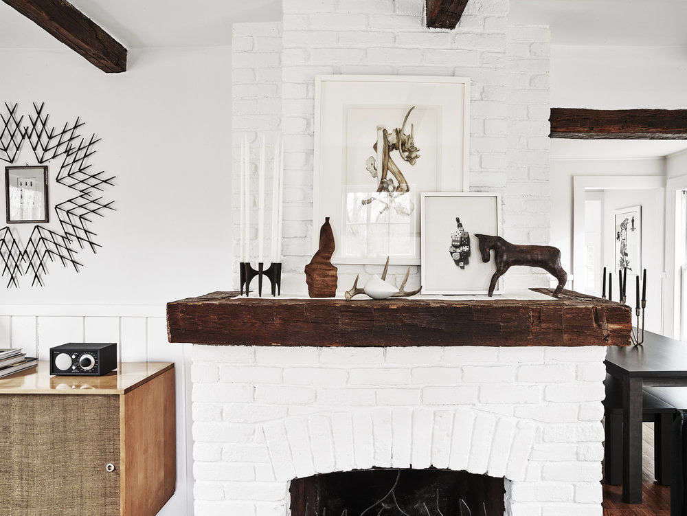 Cosmetic Historic House Remodel Using Little More Than