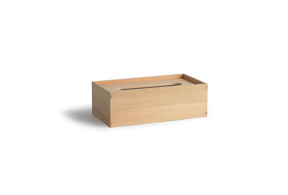 The Azmaya Hinoki Tissue Box Is Constructed Without Hardware By Traditional Joinery Methods 90 At
