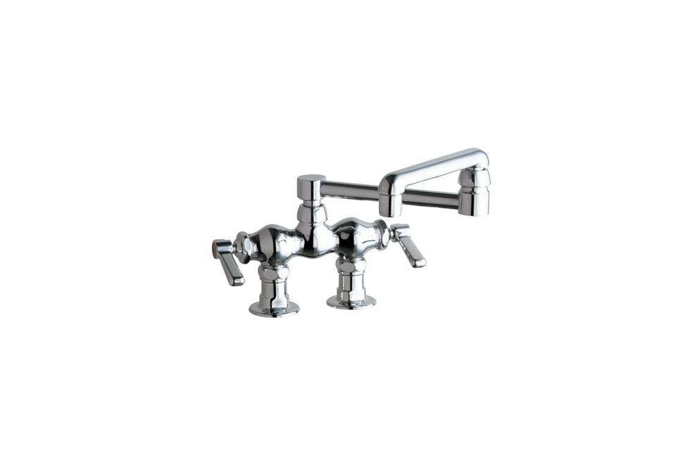 Articulated Deck Mount Kitchen Faucets