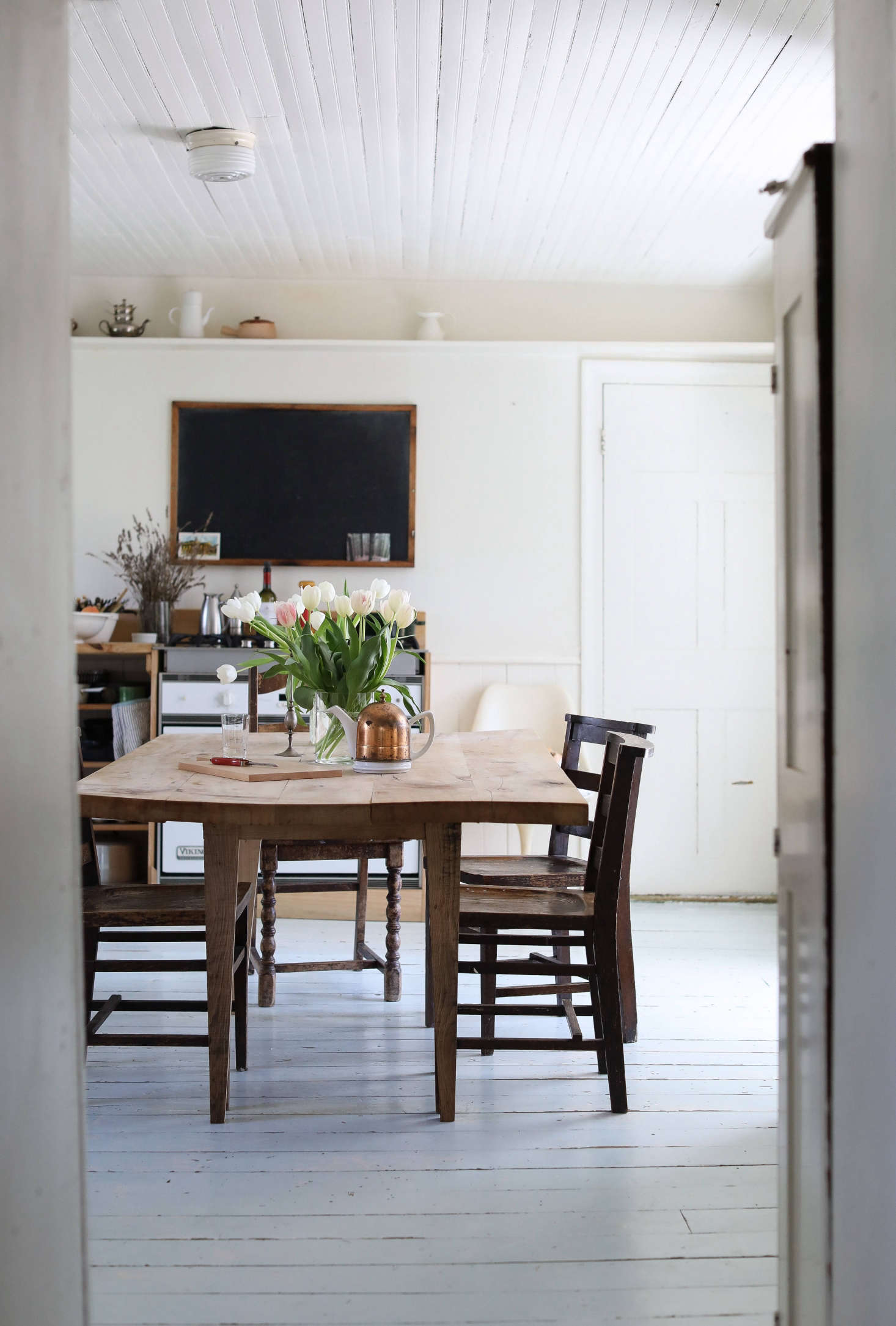 Ehrlichu0027s Commissioned Utilitarian Table In The Kitchen. Photograph By  Justine Hand From House Call: