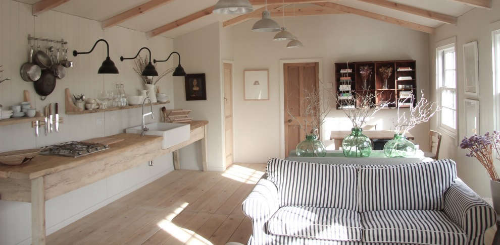 A Simple Bespoke Cabin in North Yorkshire, Father/Son Edition