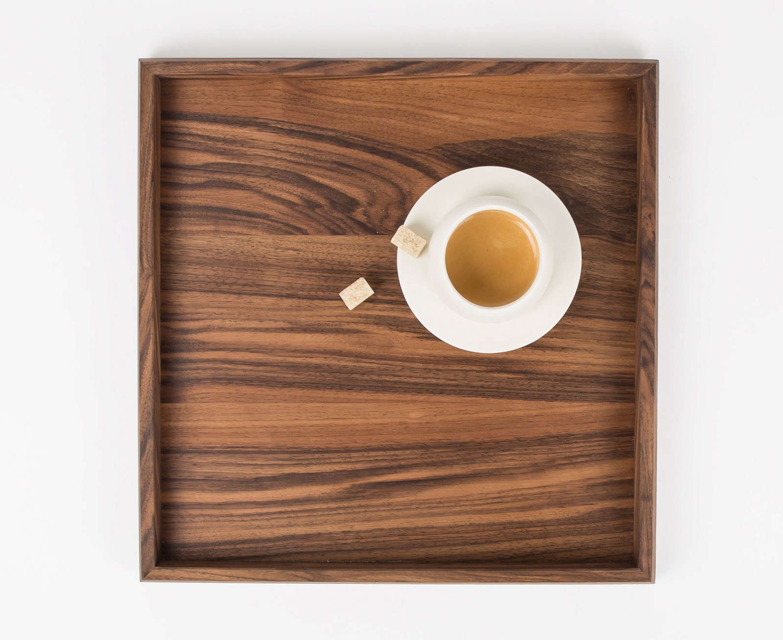 Beveled Walnut Tray