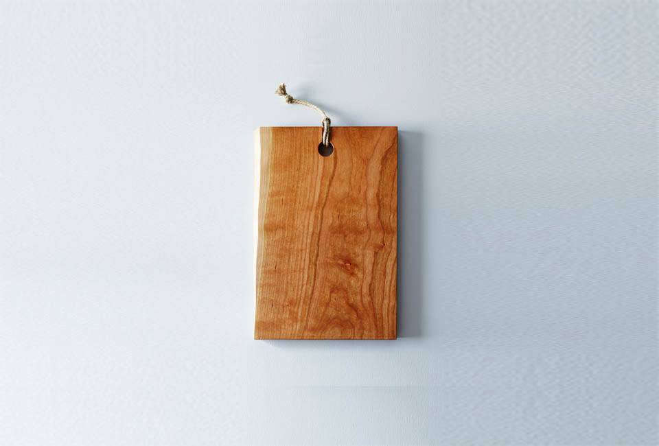 The Live Edge Domestic Wood Serving & Cutting Board is $135 at Food52.