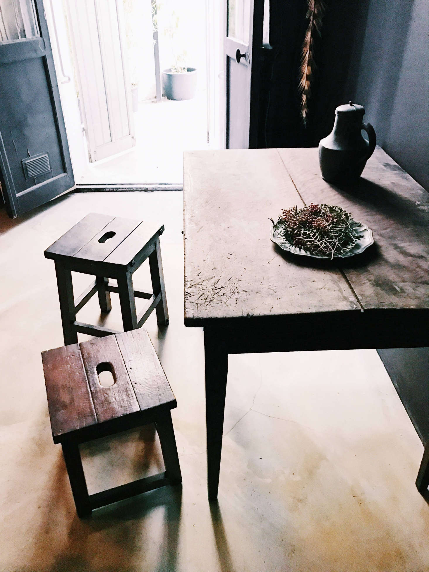"""The apartment """"smells pleasantly of linseed oil and Marseilles soap,"""" a guest writes on Airbnb."""