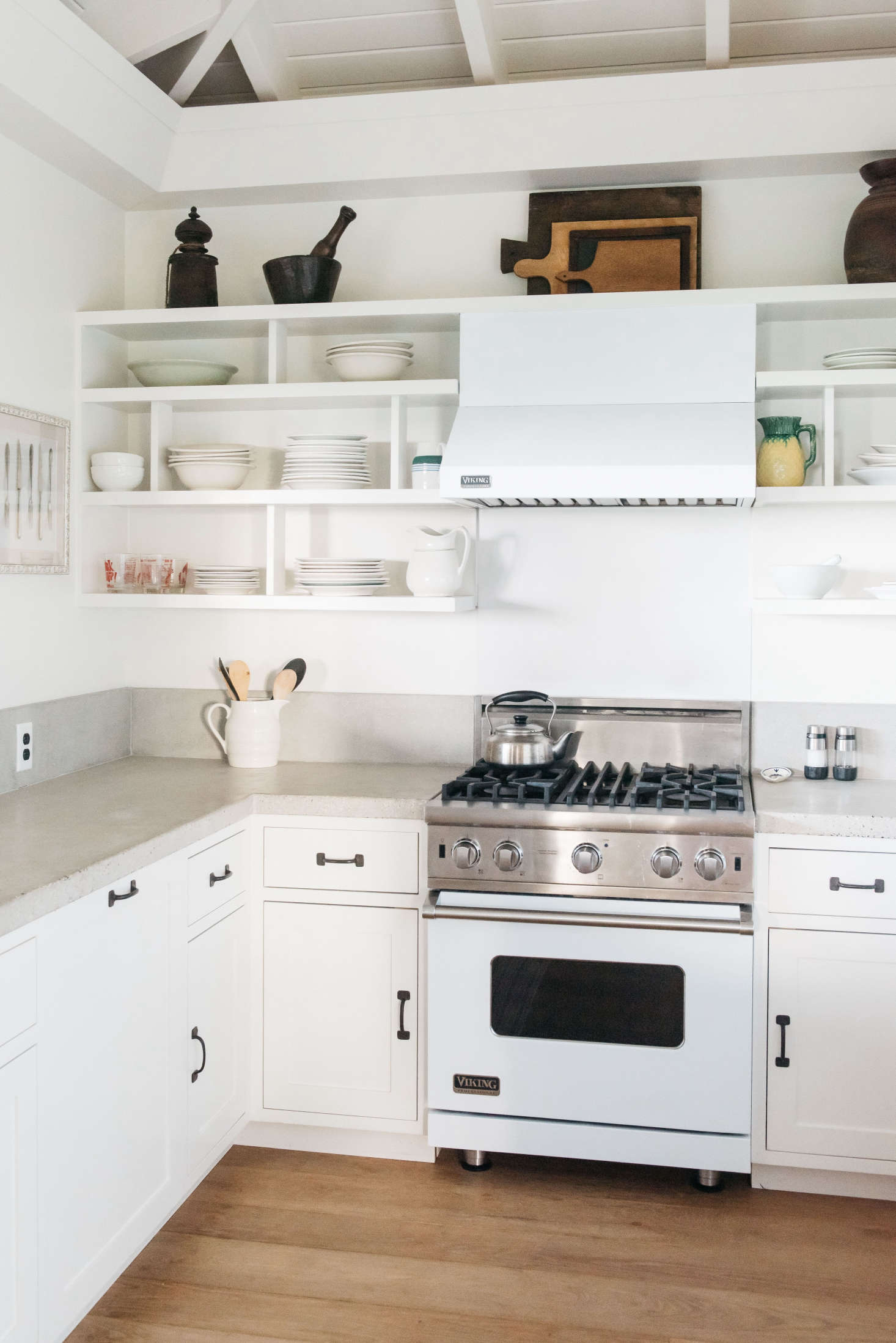 Steal This Look: A Modern, All-White Kitchen in Maui - Remodelista