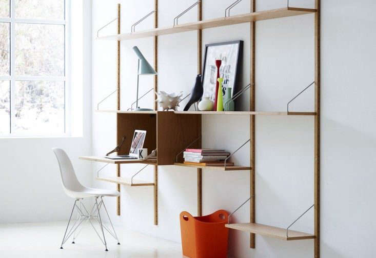 High Low Wall Mounted Midcentury Modular Shelving Remodelista