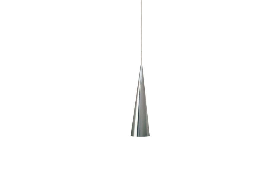 The Summit 1-Light FreeJack Pendant Light is $235 at All Modern. Another option is the Sonneman Micro Cone 1-Light Mini Pendant for $390 also at All Modern.
