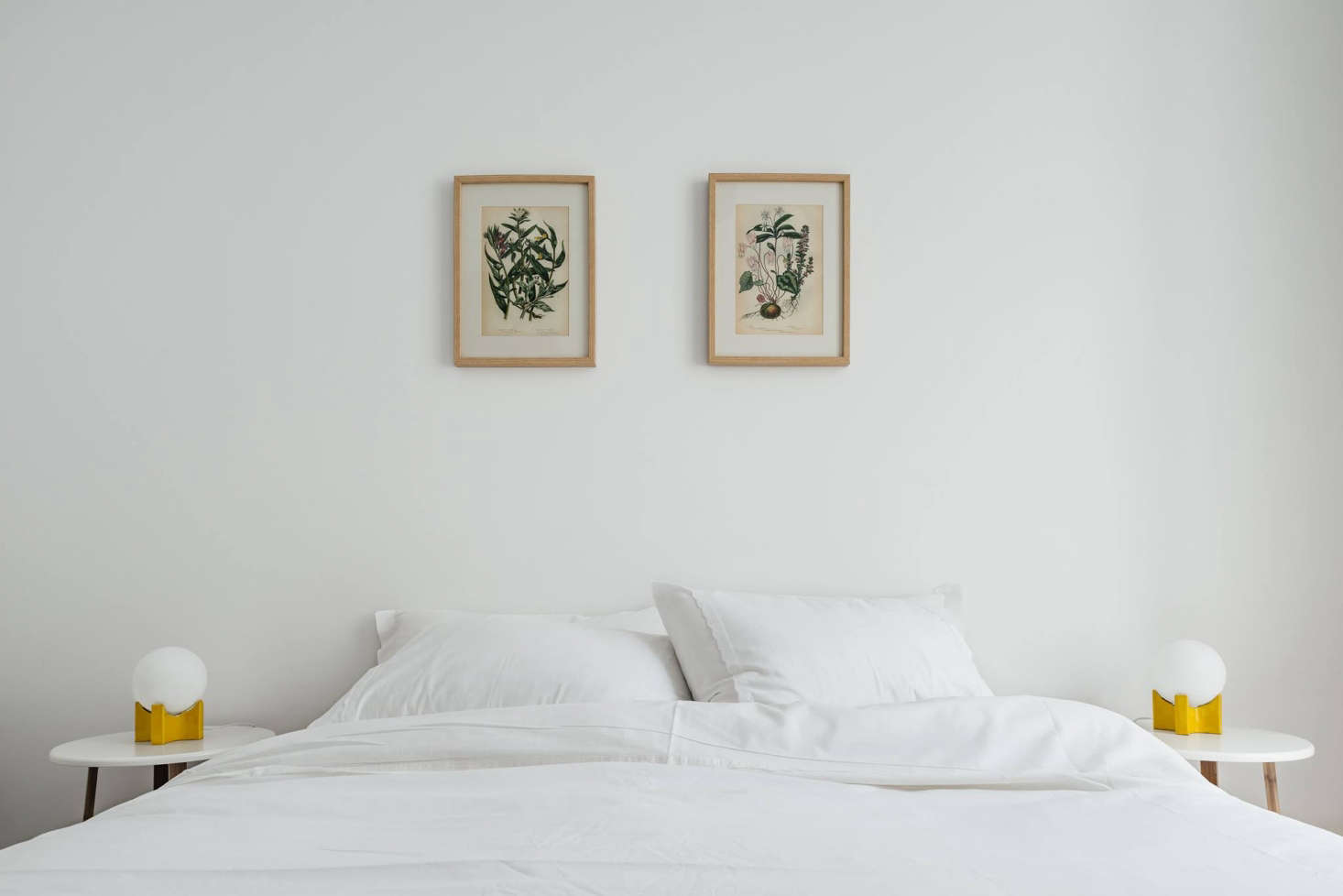 The Lisboans has 15 apartment-style guest suites. Shown here: the Comfort One-Bedroom, vintage botanical prints included. (For a similar look, see Steal This Look: A Portuguese Bedroom with Vintage Charm.)