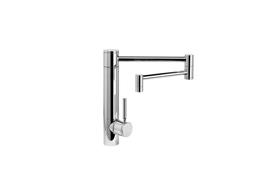 10 Easy Pieces Articulated Deck Mount Kitchen Faucets
