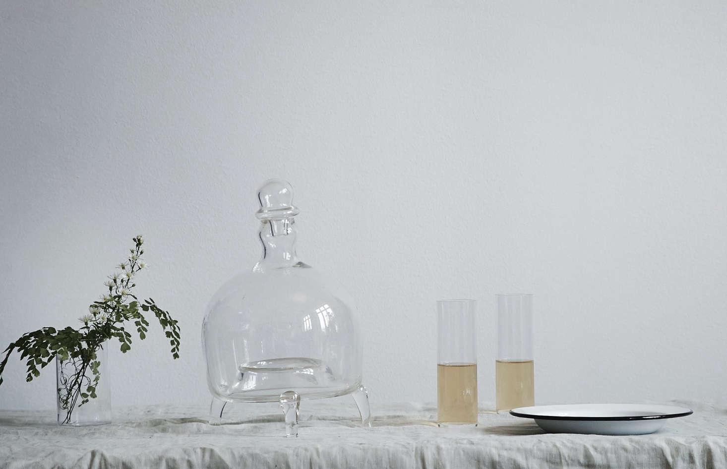 The Handblown Glass Flycatcher is an artful solution for catching summertime flies; it&#8